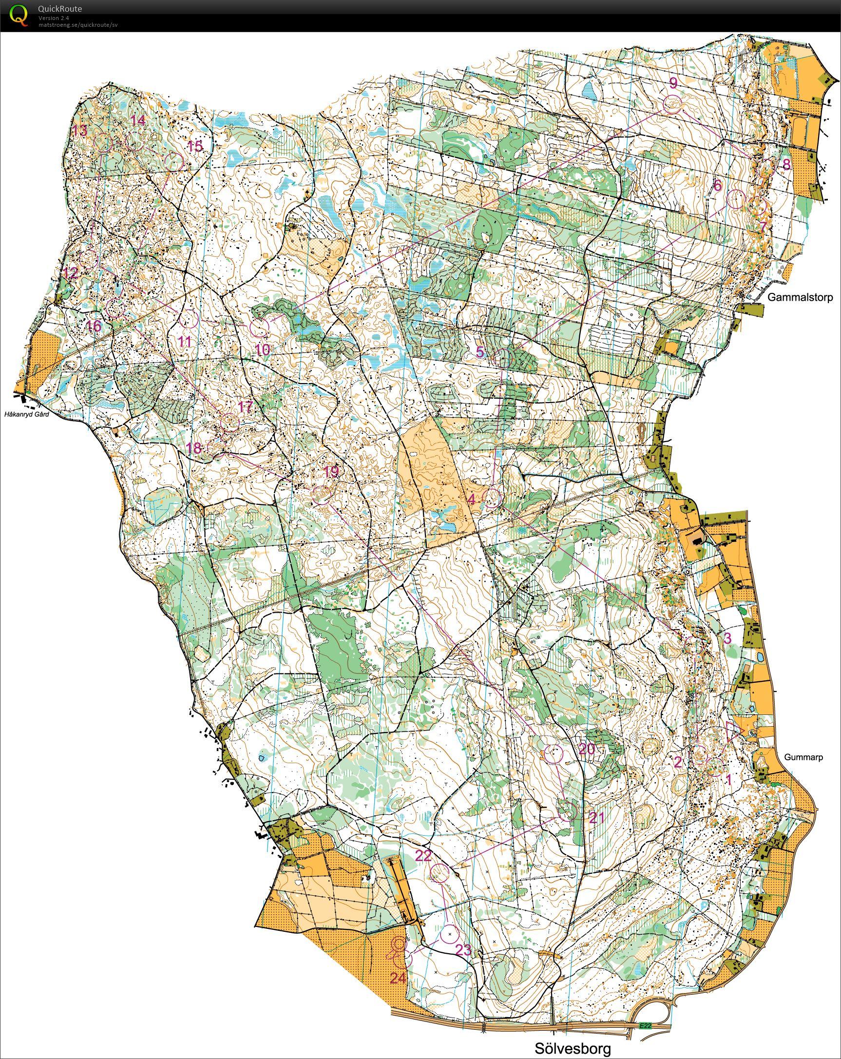 sølvesborg sverige kart O Ringen 2014 E4, H21E   July 24th 2014   Orienteering Map from  sølvesborg sverige kart